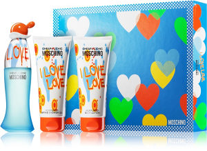 Moschino I love love SET 50ml + 100ml BL + 100ml BSG