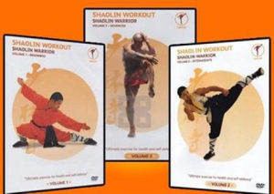 Shaolin Warrior Workout Completed DVD