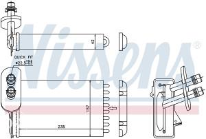 AUDI A3 -Hladnjak grijanja 1.6i/1.8T/1.9TDI (1996-2003)