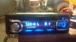 CD MP3 USB KENWOOD BLUETOOH TELEFON