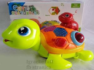 Morska kornjača svira i svijetli za bebe NOVO!