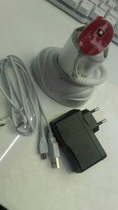 Stalak za mobitele s alarmom protiv krađe