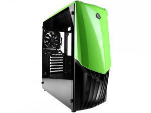 Kuciste Raidmax GAMA, 12cm Fan/Green/USB3.0/A18TG