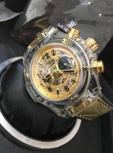 Hublot Unico Perpetual Sapphire Gold