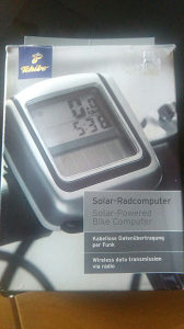 Solarni sat za biciklo