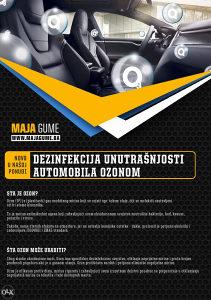 Dezinfekcija vozila OZON-om!