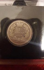 1 dinar 1879