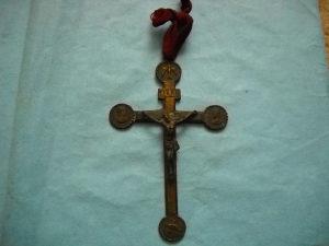 Metalni križ - krst