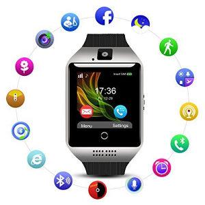 Smart watch Q18 CRNI i SREBRENI  PAMETNI SAT