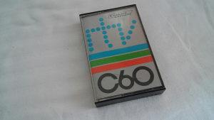 Kaseta prazna za snimanje RTV C60