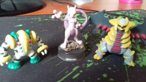 Pokemon Figurice (Mewtwo, Giratina, Regigigas)