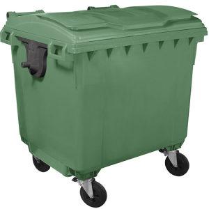 Plastični kontejner – 1100l ravan poklopac