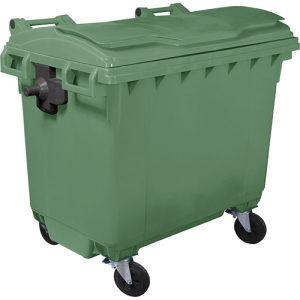 Plastični kontejner – 660l ravan poklopac