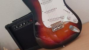 Elektricna gitara + pojacalo
