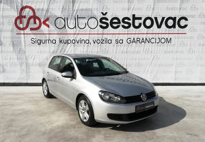 VW GOLF VI 2.0 TDI 2009g. Reg. 08/2018