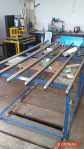 kompletna linija za proizvodnju Alu i pvc stolarije