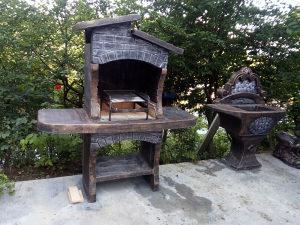 Betonski kamin rostilj dostava sarajevo hercegovina