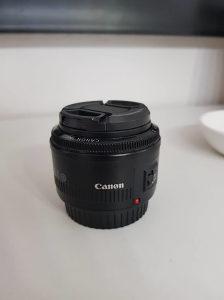 Objektiv Canon 50mm 1:1.8 II