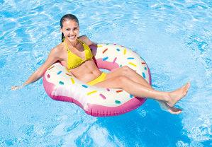 Donut tube, dušek za bazen, more, plažu