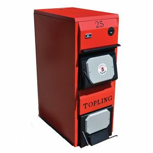 Kotao na cvrsto gorivo TOPLING TKP 40 kW Pec ,drva