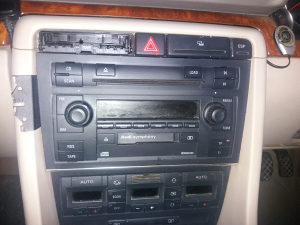 Kastofon radio cd audi a4 a3