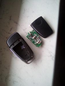 kljuc audi A6 2004-2009 sa elektronikom
