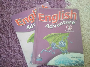 English Adventure 2 + gratis radna sveska