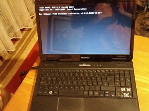 Laptop za dijelove EMachines E625