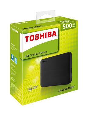"""EXTERNI hard disk Toshiba 500GB 2.5"""" USB"""