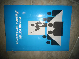 Knjiga POKRETANJE MALOG BIZNISA- DR.K.HRELJA