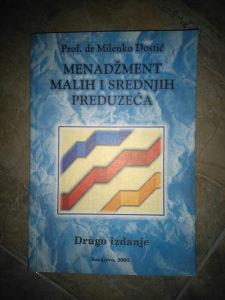 Knjiga MENADZMENT MALIH I SREDNJIH PREDUZECA-PROF.DR.M.