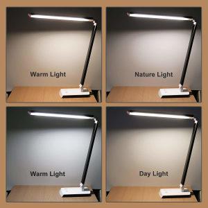 Aluminijska stolna LED lampa