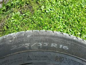 Ljetne gume Mischelin 225 55 16
