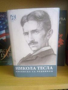Knjiga - Nikola Tesla - prepiska sa rodbinom