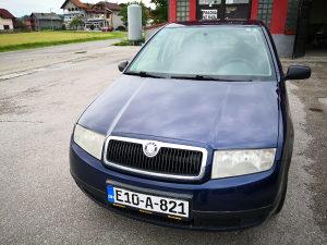 Škoda Fabia 1.4 MPI registrovana godinu