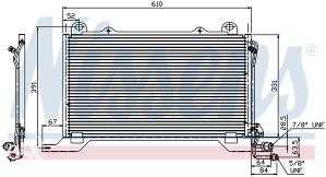 MERCEDES E (W210) -Hladnjak klime (1995-1999)