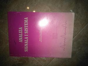 Knjiga ANALIZA SIGNALA I SISTEMA(M.AHIC-DJOKIC/B.PERUNC