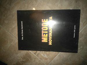 Knjiga METODE NOVINARSTVA(DOC.DR. Enver Demirovic)