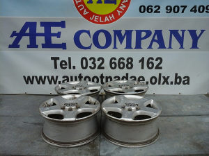 Alu aluminijske felge felga VW Touareg 06g R17 AE 091