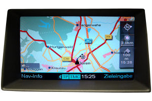 Audi MMI 2G mape 2018