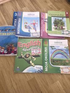 Knjige udzbenici za 3 razred