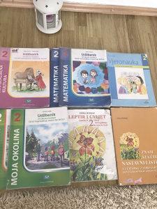 Knjige udzbenici za 2 razred