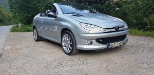 Pezo 206 cabrio 2005 g 1.6 hdi