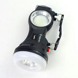 Solarna led lampa 3u1 za kampovanje