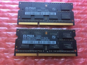 Apple Elpida 8GB Kit (2 x 4GB) PC3-12800 DDR3 1600 Mhz