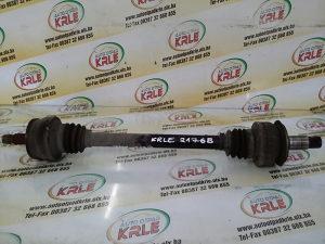 Poluosovina zadnja lijeva C klasa 203 2.2 CDI KRLE 2176