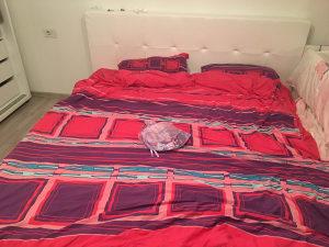 Spavaća krevet kožni