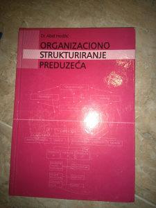Knjiga ORGANIZACIONO STRUKTURIRANJE PREDUZECA- DR ABID