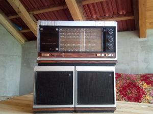 Antikvitet radion starina