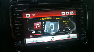 Radio DVD Golf 5 6 7 Passat RNS 510